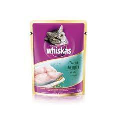 วิสกัส แบบซอง แมวโต 1+  ปลาทูน่า 24 ซอง