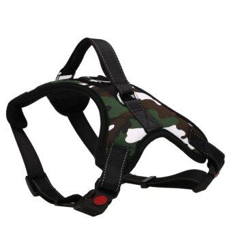Pet Dog Soft Adjustable Harness Pet Walk Out Hand Strap Vest Collar(M) - intl