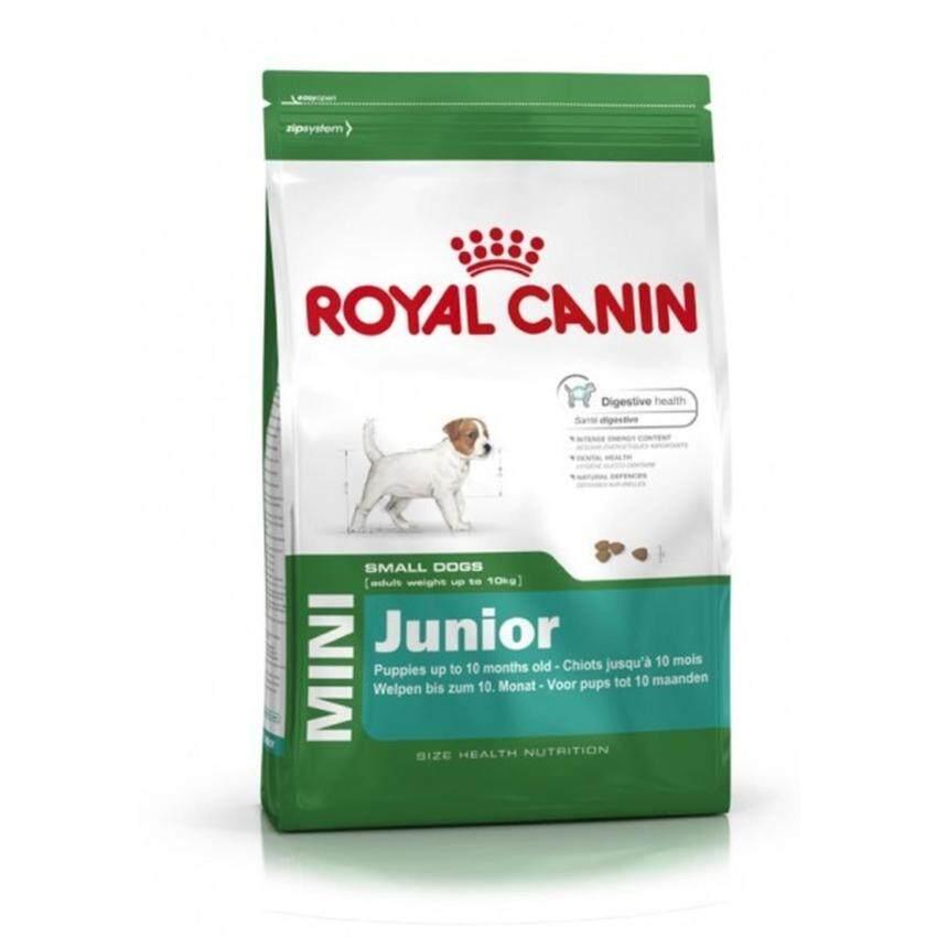 Royal Canin Mini Junior 2 kg อาหารลูกสุนัขพันธุ์เล็ก 2 – 10 เดือน ขนาด 2 กิโลกรัม