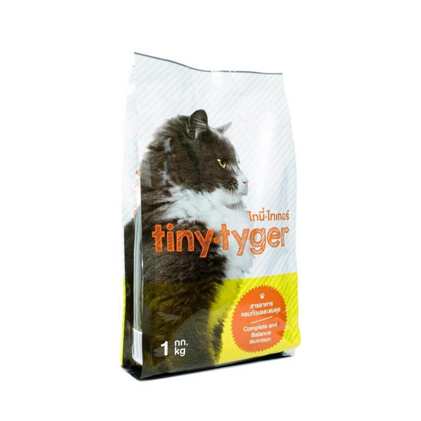 Tiny Tyger ไทนี่ ไทเกอร์ อาหารแมวเม็ดต้นตำรับจากญี่ปุ่นสูตรสมดุล 1.0 kg ...