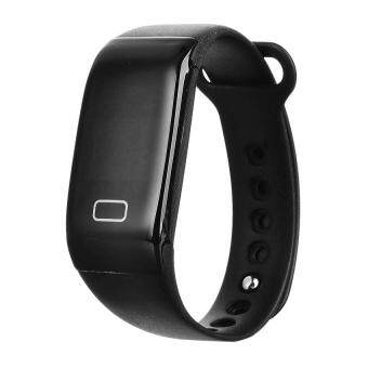 0.66x9D JW018 Smart Heart Rate Bracelet BT 4.0 WristbandforiOS - intl