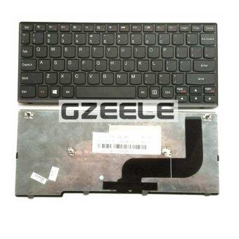 100% ใหม่แป้นพิมพ์สำหรับ LENOVO yoga11s yoga 11s Flex10G S210 S210G s210t S215 s215T US แป้นพิมพ์คอมพิวเตอร์แล็ปท็อปสีดำ
