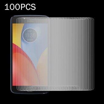 100 PCS for Motorola Moto E4 0.3mm 9H Surface Hardness 2.5D Explosion-proof Tempered Glass Non-full Screen Film - intl