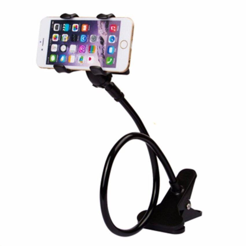 ขาจับมือถือ ที่หนีบสมาร์โฟน แท่นวางไอโฟน แบบหนีบ (สีดำ) 12 ...