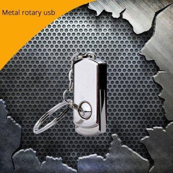 128GB 128GB 128GB Metal USB flash drive USB 3.0 pendrive usb memorystick U disk for gift(SILVER) - intl