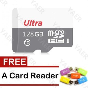 128GB Micro Sd Card /TF card for Mobile Phone smart phone Mp3 Mp4Camera With Card Reader - intl