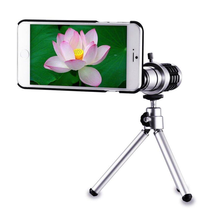 12x Optical Zoom Telescope Manual Focus Telephoto Lens for iPhone 7 Plus DC734 - intl