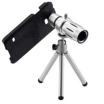 12X Telescope Lens for Samsung Galaxy S5 / G900(Silver)
