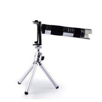 16X Zoom Telescope Camera Lens with 220x Microscope Lens Mini Tripod for galaxy note2 N7100
