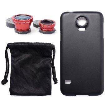 180 degree Fish Eye Wide Macro Lens + Case for Samsung Galaxy S5 V i9600 DC473-SZ (Black)