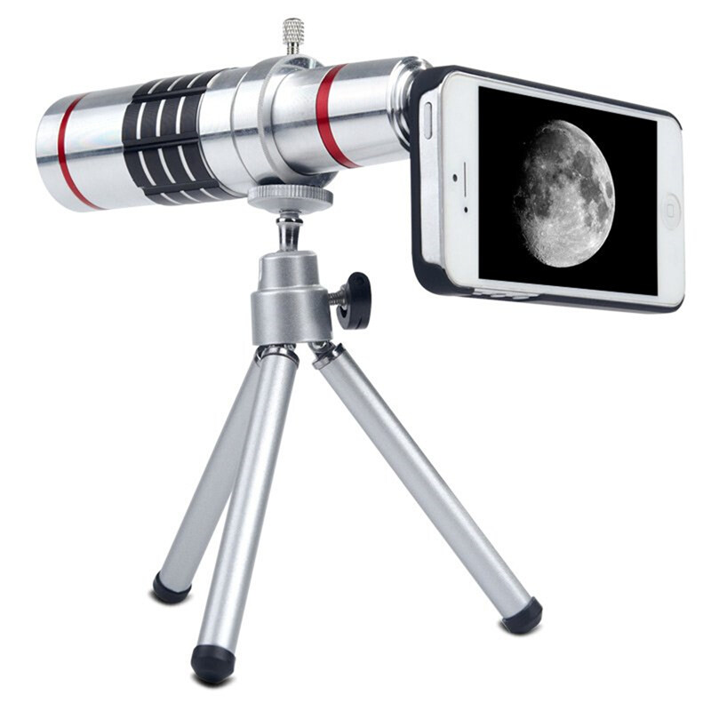 18X Optical Zoom Telescope Camera Lens for Samsung S6 S6 Edge Plus S7 S7 Edge IPhone 6 6s Plus