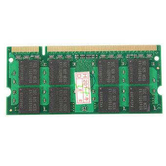 2ชิ้น 2จิกะไบต์ของ Ddr 2 ตัว 800 PC2-6400 โน้ตบุ๊ค-โน้ตบุ๊ค SODIMM ECC ไม่จำ Ram 200 ซึ่งปักที่เราซื้อ - intl