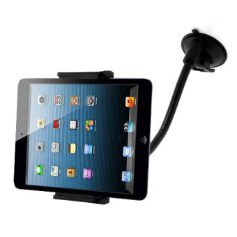 2 in 1 LP-3B Rotary Windshield Suction Cup Adjustable Car Mount for iPhone Samsung Sony Tablet PC Etc
