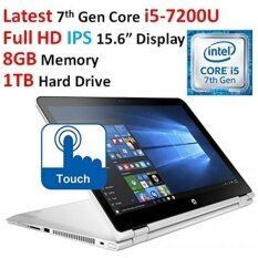 """2017 Newest HP Flagship High Performance 2-in-1 Convertible Laptop, 15.6"""" FHD Touch-Screen IPS Display, Latest Gen Intel Core i5-7200U Processor, 8GB Memory, 1TB HDD, Bluetooth, 802.11AC, Windows 10 - intl"""