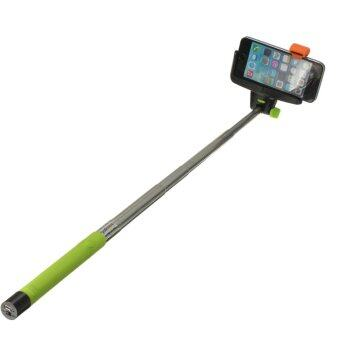 22cm Wireless Shutter Extension Pole Mount Selfie Stick (Green)