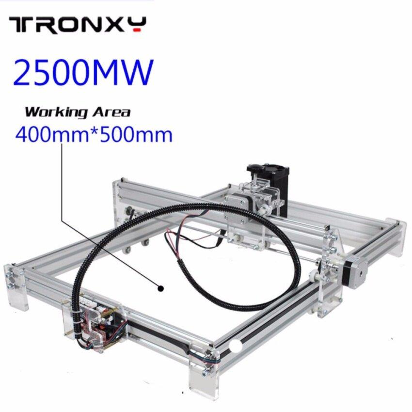 2500mW 40x50cm Desktop DIY Violet Laser Engraver Picture CNC Printer Laser Jet Assembling Kits - intl