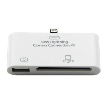 2in1 OTG Card Readers with Digital Camera Connection Kit USB FlashDisk for IOS
