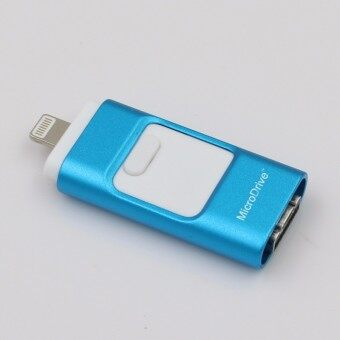 3 in 1 memory stick 16GB Otg Usb Flash Drive For iPhone7/ipad/PC/Android—blue - intl