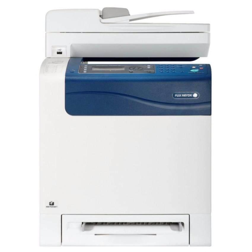 3 Year Warranty Fuji-Xerox DocuPrint MultiFunction Color Laser รุ่น CM305df (Print/Scan/Copy/Fax.)  White