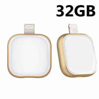 32GB New OTG USB Disk Flash Memory Stick Drive for iPhone5/6/6s/IPad Air/ PC (2 Colors)-white - intl