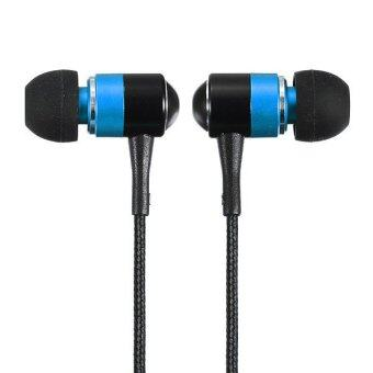 3.5mm Headphones Earbud Earphone Headset For iPhone 6 Galaxy s5 Note 4 MP4 MP3 Blue