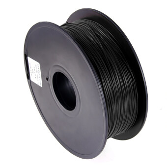 3D Printer Filament ABS 1kg / 2.2lb 400m for 3D Printer Pen Black 1.75mm