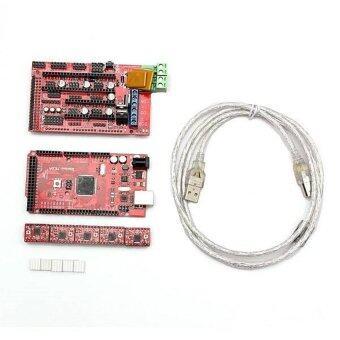 3D Printer Kit RAMPS 1.4 REPRAP Controller Mega2560 A4988 DriversHeatsink