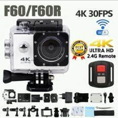 กล้องแอ็คชั่นแคมกันน้ำ กล้องวีดีโอติดหมวกกันน็อค กล้องถ่ายใต้น้ำ กล้องท่องเที่ยว พร้อมรีโมท 4k Hd Wifi Action Camera 2.0 Inch 170 Degree Wide Angle Lens Action Camera Wifi 4k Waterproof Sports Action Camera ราคา 1,490 บาท(-50%)