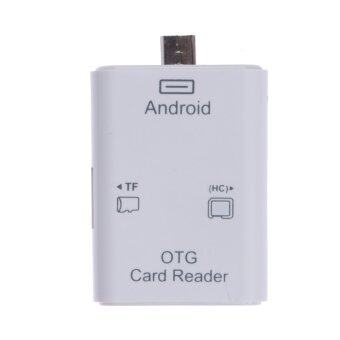 5 in 1 Micro USB OTG SD TF Card Reader Connection Kit For Android Phones PC - intl