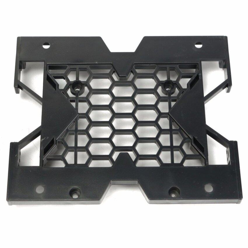 "5.25"" to 3.5"" 2.5"" SSD Hard Drive Bay Tray Cooling Fan Heatsinks Mounting Bracket w/Screws - intl"