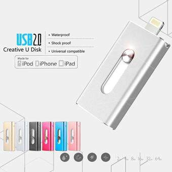 64GB USB Flash Drive For IPhone 7/7plus/6/6s Plus/5s/5/5c/Ipad Pen Drive HD Memory Stic - intl - intl