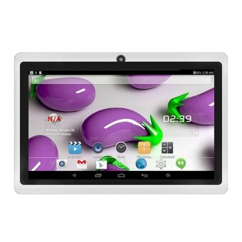 7 inch A33 Quad-core Tablet PC Android 4.4 8G 800 x 480 Resolution Support 3D-Game Music Video Play Bluetooth APP Download with Dual Camera Multilingual Language US Charger Plug - intl
