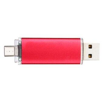 8GB OTG pen drive USB 2.0 USB Flash Drives Storage Drive Memory Stick(Red) - INTL
