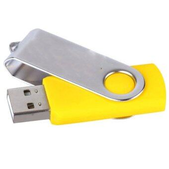 8GB OTG swivel Key chain USB 2.0 USB Flash Drives Storage Drive Memory Stick (Yellow) - INTL