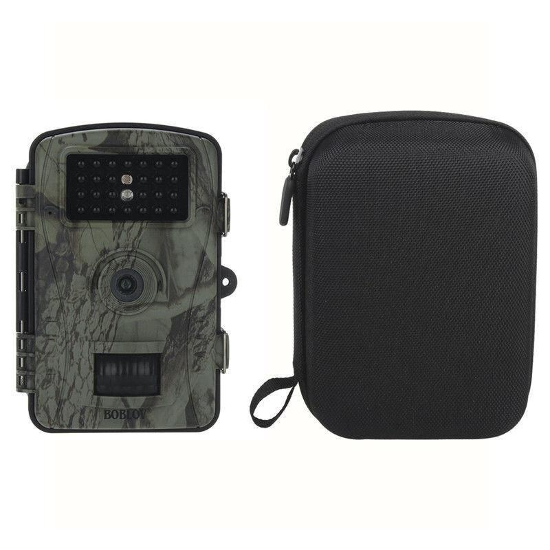 8MP Trail Wildlife Scouting Night Vision LED Infrared Hunting Camera+Free Bag - intl ...
