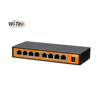 9-Port 24V 100Mbps PoE Switch with 8-Port PoE WI-PS109-24V