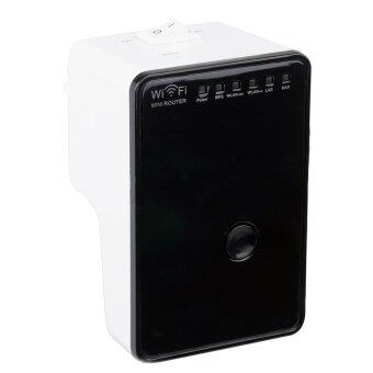 AC750M Mini WiFi Wireless Network Router Signal Amplifier Booster WiFi Repeater Extender UK Plug