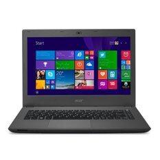 Acer Aspire E5-432G-P33Q/T004 (NX.MZJST.004) Intel® Pentium® quad-core processor N3700 4 GB DDR3L Mineral Gray