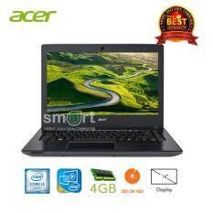"""Acer E5-475-316S Corei3-6006U /4GB DDR3/500GB/DVDSM/UMA/14.0""""/Linux (Iron Black)"""