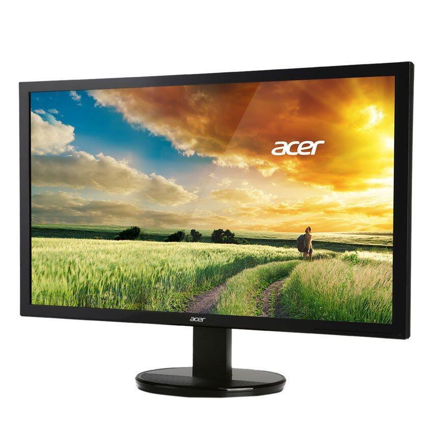 ACER LED IPS 21.5'' รุ่น K222HQLBbid Black (DVI/HDMI/VGA)
