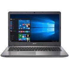 "Acer โน๊ตบุ๊ค Notebook Acer Aspire F5-573G-53SJ/T003-Silver(i5-7200U,4Gb,1Tb,GTX950M-4Gb,15.6"")NX.GFMST.003 ลงโปรแกรมพร้อมใช้งาน"