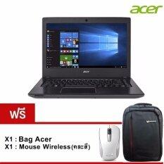 "Acer Notebook Aspire E5-475G-332Q (NX.GCPST.021) i3-6006U/ 4GB/ 500GB/ GT940MX 2GB/14""/ Linux (Grey) รับประกัน 2 ปี"