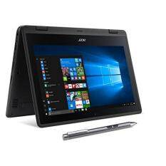 Acer SP111-31N-C4UG Spin 1, 11.6 Full HD Touch, 2 in aptop, Celeron N3350, 4GB DDR3L, 32GB Storage, Office 365, Stylus, Obsidian Black