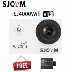 Action Cam ,car Camera กล้องแอ็คชั่นแคม ,กล้องติดหมวกกันน็อค ,กล้องติดรถยนต์ ,กล้องกันน้ำ ,กล้องถ่ายใต้น้ำ Sjcam Sj4000 Wifi And Battery ราคา 2,530 บาท(-45%)