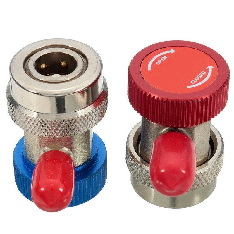 Adjustable Rapide Coupler Connectors QC-HA & QC LA R134A Auto Air Conditiontion ...