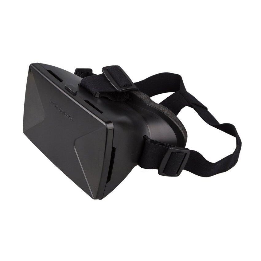 All Mate กล่องแว่นตาดูหนังในมือถือแบบ 3D (สีดำ) ...