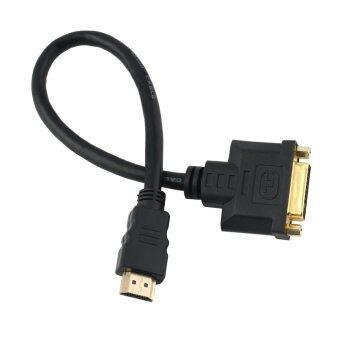 Allwin DVI ตัวผู้เพื่อ HDMI19( 24 x 1 ปัก) จอภาพแสดงผลอะ DVI HDMI สาย