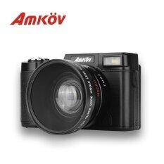 Amkov Cd - R2 Digital Action Camera Video Camcorder - Intl ราคา 2,461 บาท(-43%)