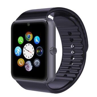 Android Waterproof Bluetooth Smart Watch GT08(black) - intl