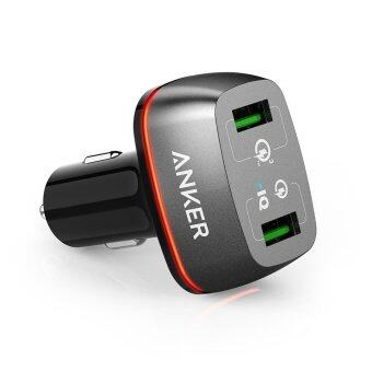 Anker Car Charger 2 Port 42W QC3.0 Fast Charge Car Charger - intl